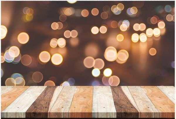 רקע לצילום אורות חמים