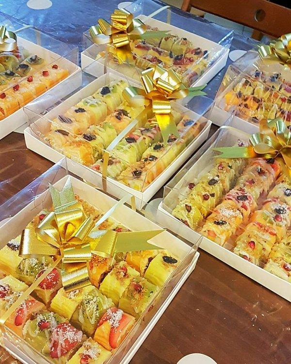 סדנת סושי פירות - סושי פירות ארוזים